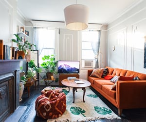 apartment, couch, and home decor image