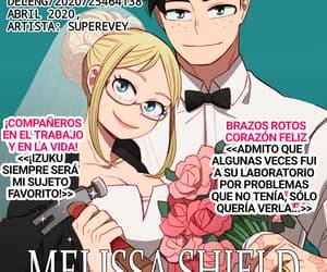 anime, boku no hero academia, and bnha image