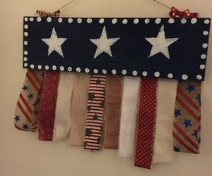 pretty, craft, and patriotic image