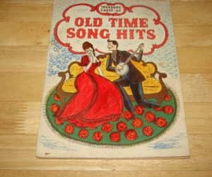 etsy, treasure chest, and vintage songbook image