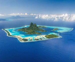 bora bora and Island image