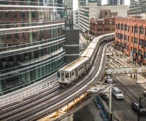 chicago, railbridge, and cityrail image
