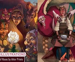 art, Digital Illustration, and illustration art image