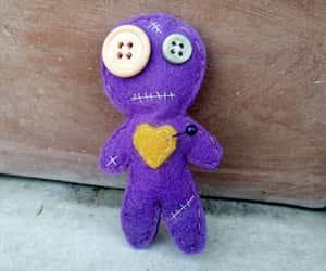 etsy, felt, and handmade doll image