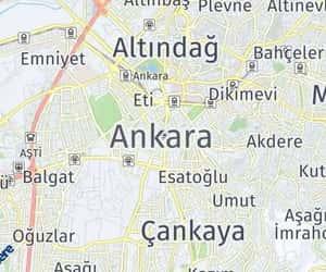 map, ankara, and kmhesaplama image