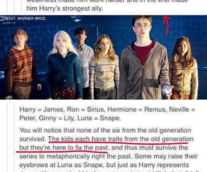 ginny weasley, harry potter, and hermione granger image