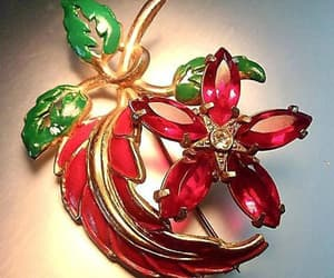 christmas, etsy, and holiday brooch image