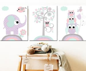 canvas print, etsy, and elephant decor image