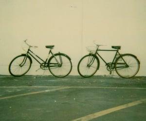 polaroid, bike, and bicycle image