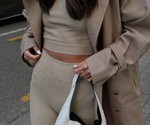 Prada, trench coat, and blogger image