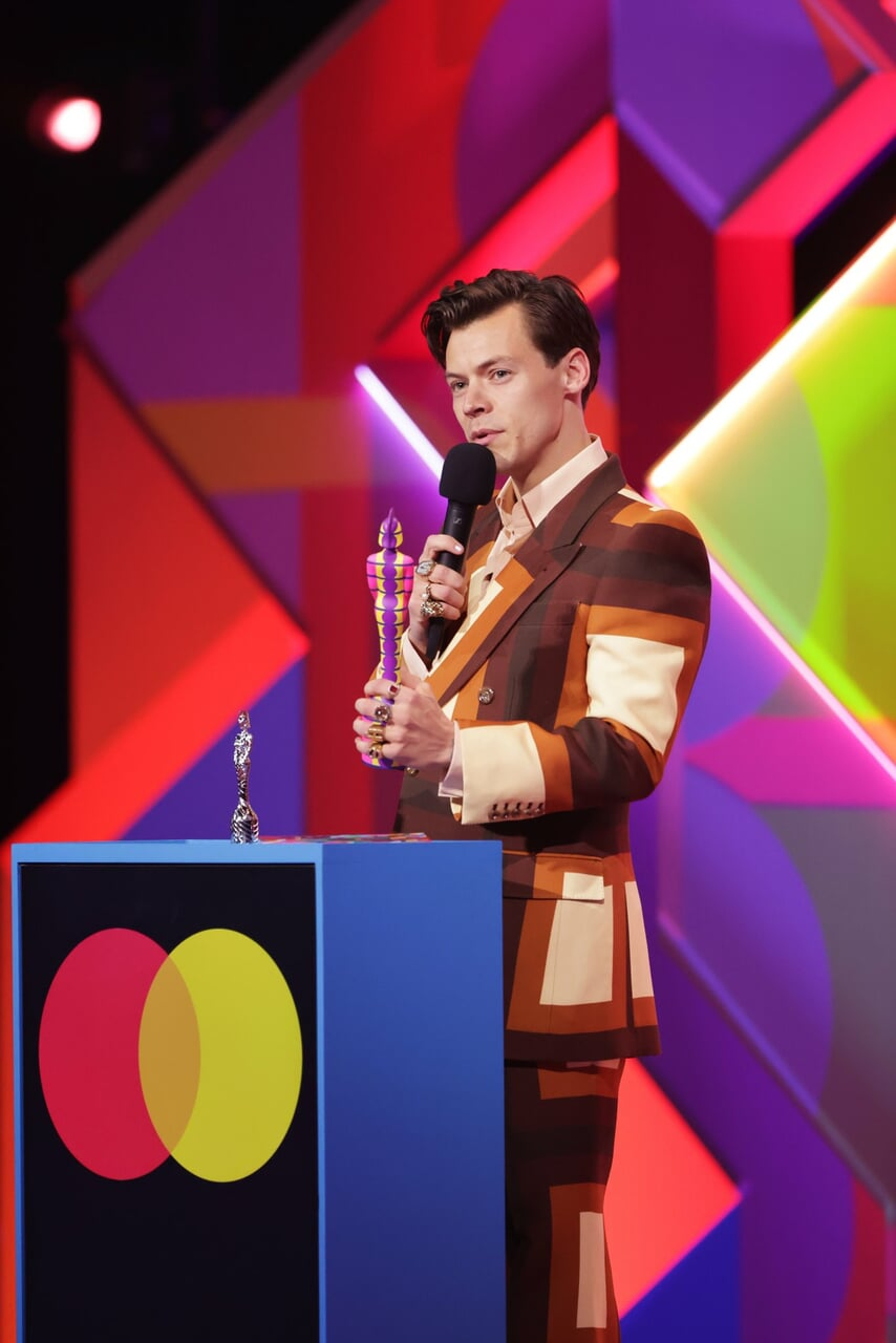 brits awards, Harry Styles, and one direction image