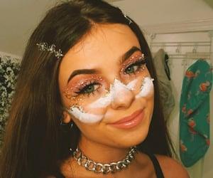 artsy, makeup looks, and coachella image