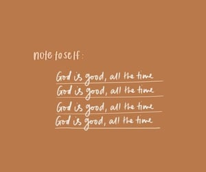god, note, and pray image