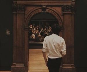 aesthetic, dark academia, and art image