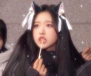 catgirl, hyejoo, and loona image