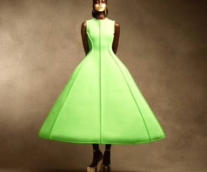 fashion, editorial, and lime image