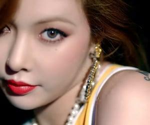 hyuna, red, and kpop image