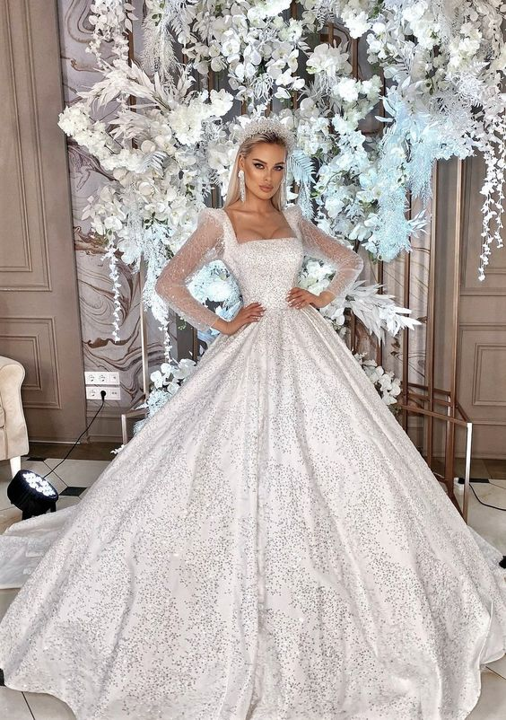 aesthetic, bride, and crystal image