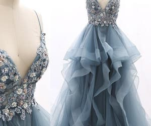 gowns, evening dress, and prom dress image