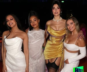 perrie edwards, little mix, and dua lipa image