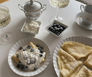 blueberry, drink, and food image
