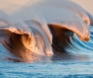Morning light on surf