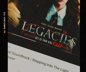 cw, series, and legacies image