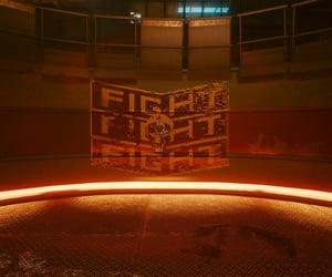 cyberpunk, orange, and fight image