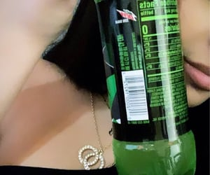 coke, necklace, and lips image