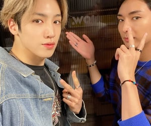 boys, wooseok, and jung wooseok image
