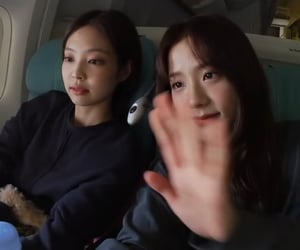 jennie, jisoo, and lq image