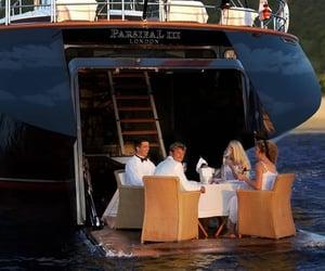 yacht, life, and luxury image