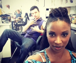 shameless, mickey milkovich, and shanola hampton image