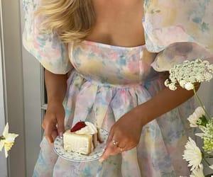 cake, dress, and fashion image