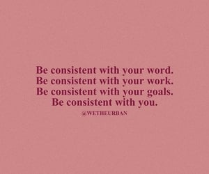consistent, faith, and focus image