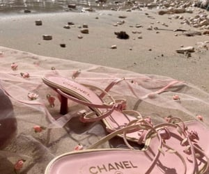 beach and chanel image