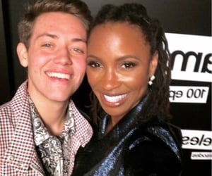 carl gallagher, shanola hampton, and shameless image