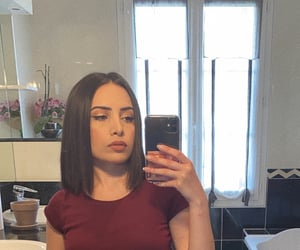 armenian, brown hair, and makeup image