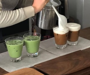 coffee, food, and matcha image