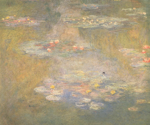 monet and water lilies image