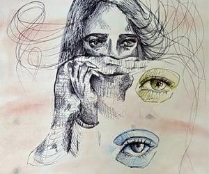 art, drawing, and mental health image