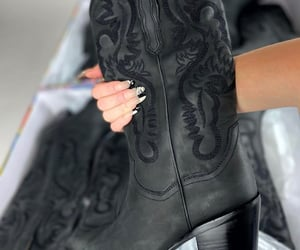 boots, cowboy boots, and shoes image