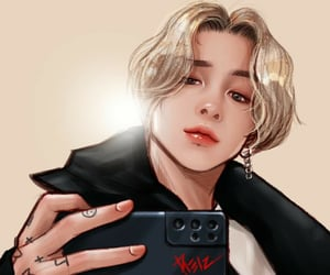 art, bts, and jeon jungkook image