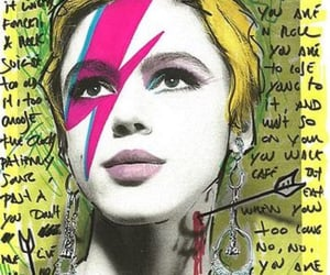 andy warhol, aladdin sane, and warhol superstar image