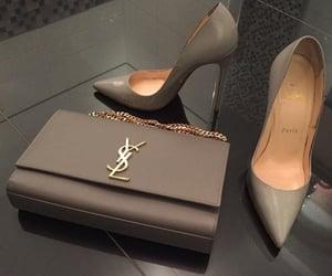shoes, bag, and YSL image