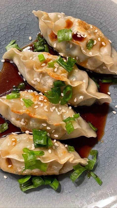 aesthetic, dumpling, and dumplings image