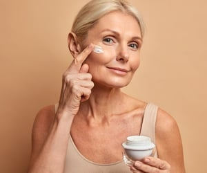 anti aging treatment, facial lines, and aging skin treatment image