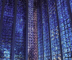 architecture, church, and blue image