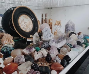 aesthetic, gemstones, and wicca image