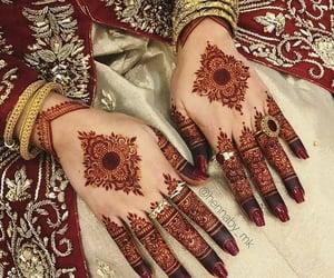 bridal, girly, and bridal hands image